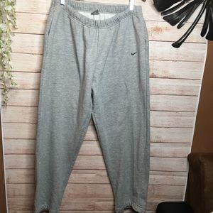 Nike gray relaxed sweatpants size XXL